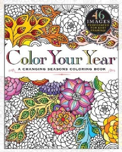 Color Your Year: A Changing Seasons Coloring Book (Paperback)