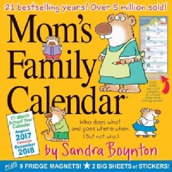 Mom's Family 17-Month 2017-2018 Calendar (Calendar)