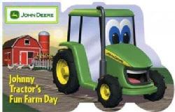 Johnny Tractor's Fun Farm Day (Board book)