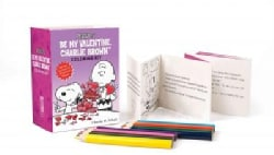 Be My Valentine, Charlie Brown Coloring Kit
