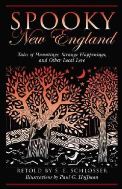 Spooky New England: Tales of Hauntings, Strange Happenings, and Other Local Lore (Paperback)