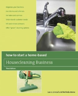 How to Start a Home-Based Housecleaning Business (Paperback)