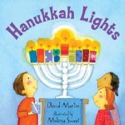 Hanukkah Lights (Board book)