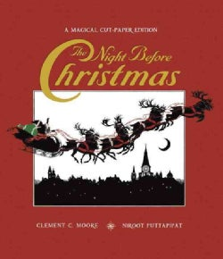 The Night Before Christmas: A Magical Cut-paper Edition (Hardcover)