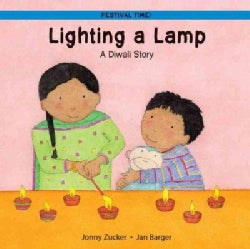Lighting a Lamp: A Diwali Story (Paperback)