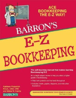 Barron's E-Z Bookkeeping (Paperback)