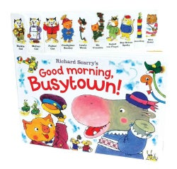 Richard Scarry's Good Morning, Busytown! (Board book)