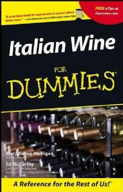 Italian Wine for Dummies (Paperback)