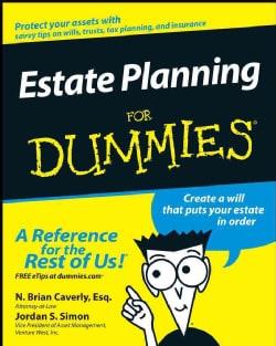 Estate Planning for Dummies (Paperback)