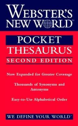 Webster's New World Pocket Thesaurus (Paperback)
