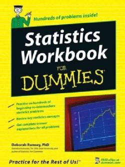 Statistics Workbook for Dummies (Paperback)