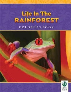 Life in the Rainforest Coloring Book (Paperback)
