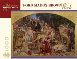 Ford Madox Brown - Work: 1,000 Piece Puzzle (General merchandise)