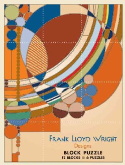 Frank Lloyd Wright Designs Block Puzzle: 12 Blocks / 6 Puzzles (General merchandise)