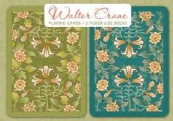 Walter Crane Playing Cards: 2 Poker-size Decks (Cards)