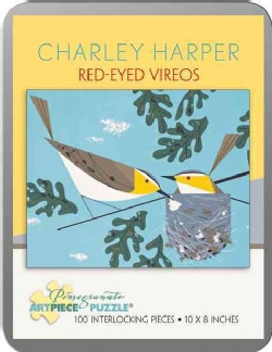 Charley Harper - Red -eyed Vireos: 100 Piece Puzzle (General merchandise)