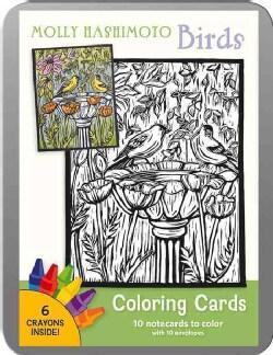Molly Hashimoto: Birds Coloring Cards (Cards)