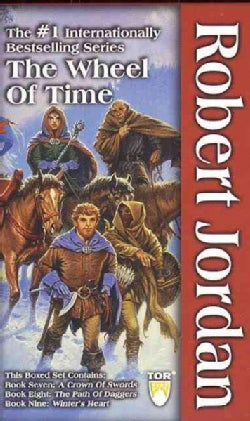 The Wheel of Time: Set 3 : A Crown of Swords/the Path of Daggers/Winter's Heart (Paperback)