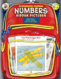 Homework Helpers Numbers Hidden Pictures Grades Prek - 1 (Paperback)