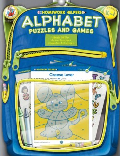 Homework Helpers Alphabet Puzzles and Games Grades K - 1 (Paperback)