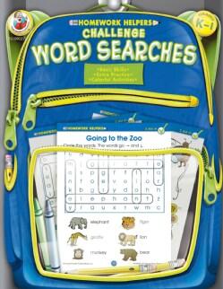 Homework Helpers Challenge Word Searches Grades K - 1 (Paperback)