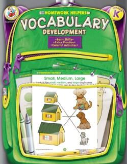 Homework Helpers Vocabulary Development Grade K (Paperback)