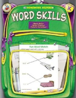 Homework Helpers Word Skills Grade K (Paperback)
