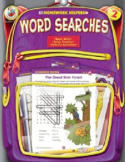 Homework Helpers Word Searches Grade 2 (Paperback)