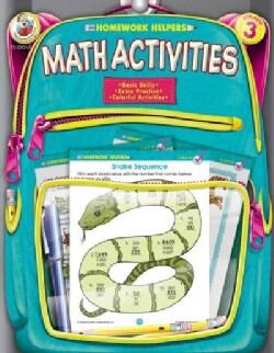Homework Helpers Math Activities Grade 3 (Paperback)