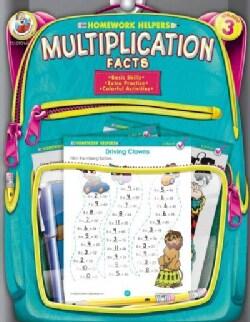 Homework Helpers Multiplication Facts Grade 3 (Paperback)