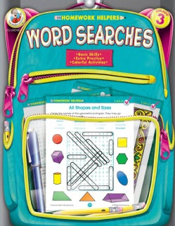 Homework Helpers Word Searches Grade 3 (Paperback)