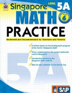 Singapore Math Practice, Level 5A (Paperback)