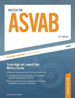 ARCO Master the ASVAB: Score High and Launch Your Military Carreer (Paperback)