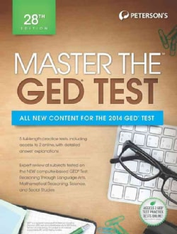 Peterson's Master the Ged Test 2014 (Paperback)