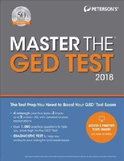 Master the Ged Test 2018 (Paperback)