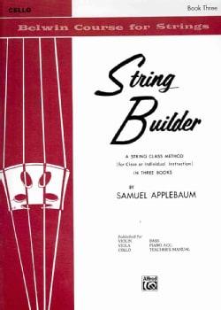 String Builder Book III: Cello (Paperback)