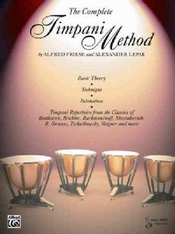 The Complete Timpani Method (Paperback)