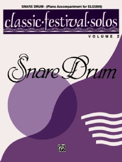 Snare Drum: Piano Accompaniment of El03899 (Paperback)