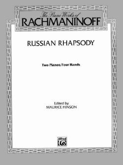 Russian Rhapsody: Two Pianos / Four Hands (Paperback)