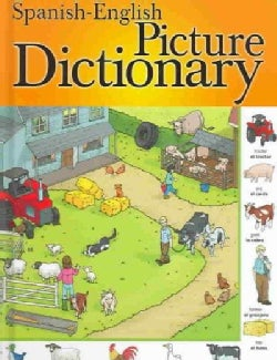 Spanish-English Picture Dictionary (Hardcover)