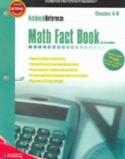 Math Fact Book: Grades 4-8 (Paperback)