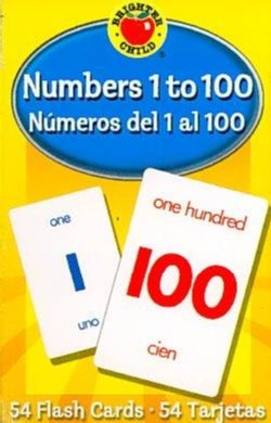 Numbers 1 to 100/numeros Del 1 Al 100: Flash Cards (Cards)