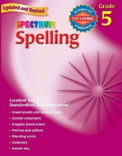 Spectrum Spelling, Grade 5 (Paperback)