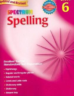Spectrum Spelling, Grade 6 (Paperback)