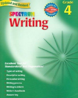 Spectrum Writing: Grade 4 (Paperback)