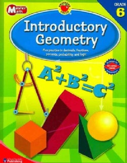 Brighter Child Master Math Introductory Geometry, Grade 6 (Paperback)