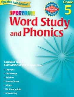 Word Study and Phonics: Grade 5 (Paperback)
