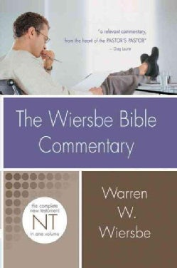The Wiersbe Bible Commentary: The Complete New Testament (Hardcover)