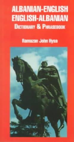 Albanian-English/English-Albanian Dictionary and Phrasebook (Paperback)