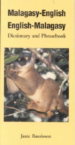 Malagasy-English/English-Malagasy: Dictionary and Phrasebook (Paperback)